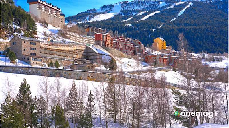 Soldeu, panorama invernale