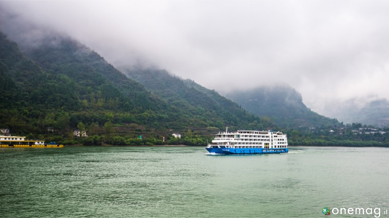 L'insolita crociere sul fiume Yangtze