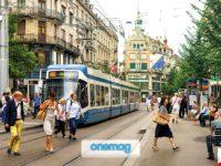 La Bahnhofstrasse, shopping e nightlife nella città svizzera