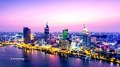 Ho Chi Minh City, veduta notturna