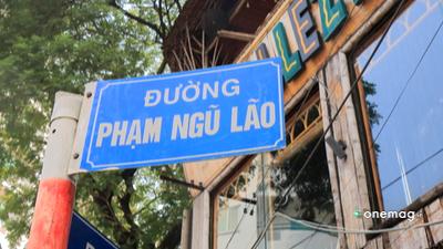 Pham Ngu Lao, cartello stradale