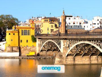 Ponte Triana, il viadotto sopra il fiume di Siviglia