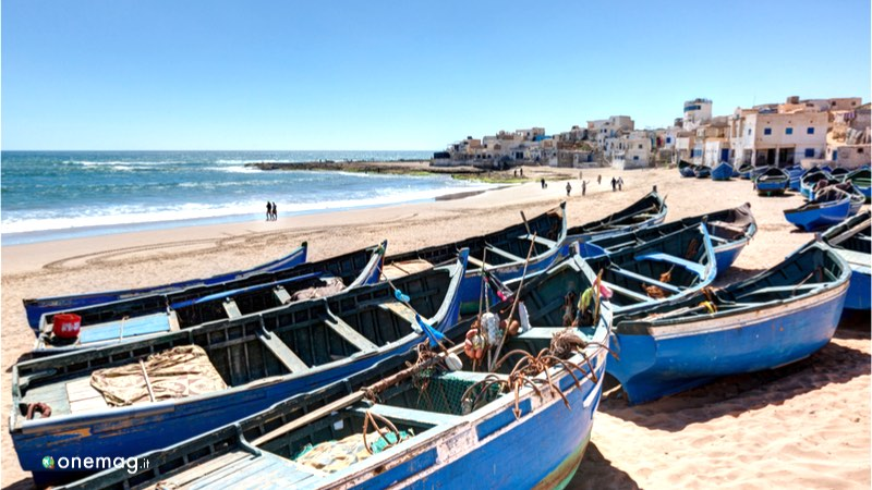 Le spiagge di Agadir, veduta