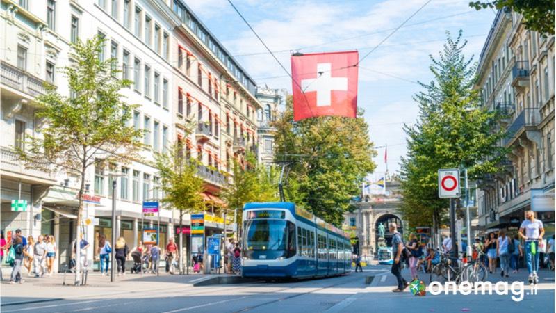 Shopping a Zurigo, la Bahnhofstrasse
