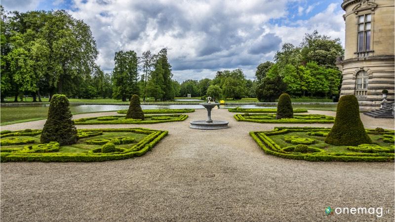 Cosa visitare a Chantilly, i giardini del castello di Chantilly