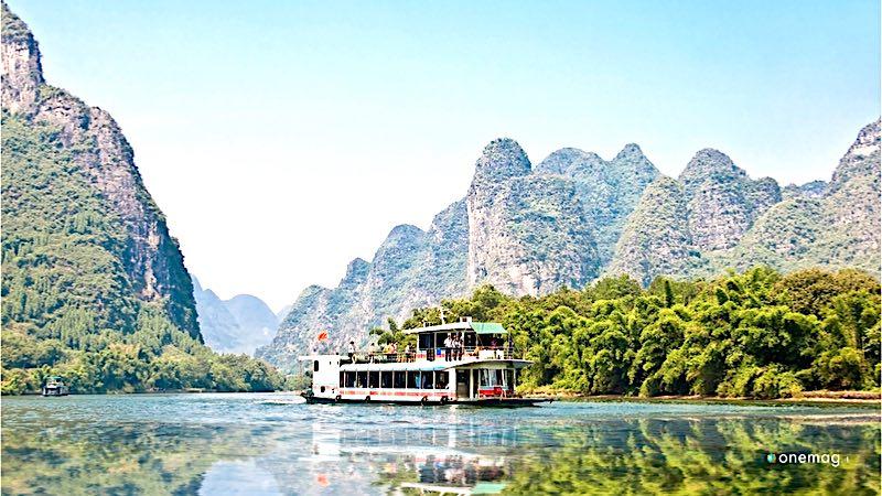 La crociera sul fiume Li