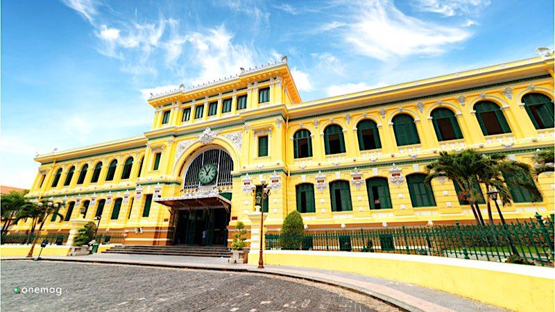 Cosa vedere a Ho Minh City, Ufficio Centrale delle Poste di Saigon