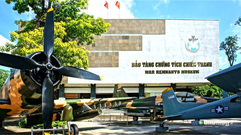 Cosa vedere a Ho Minh City, il Museo della Guerra