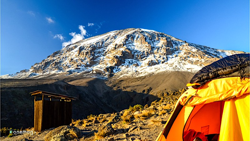 Il Parco Nazionale del Kilimangiaro, veduta del Monte Kilimangiaro