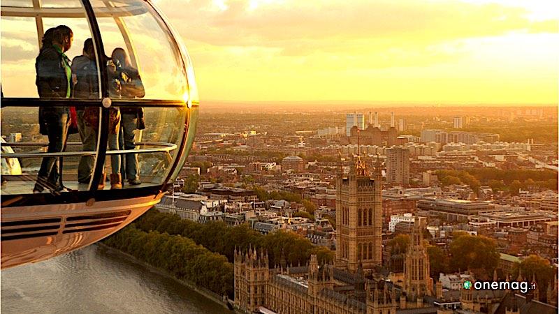 I migliori panorami di Londra, London Eye