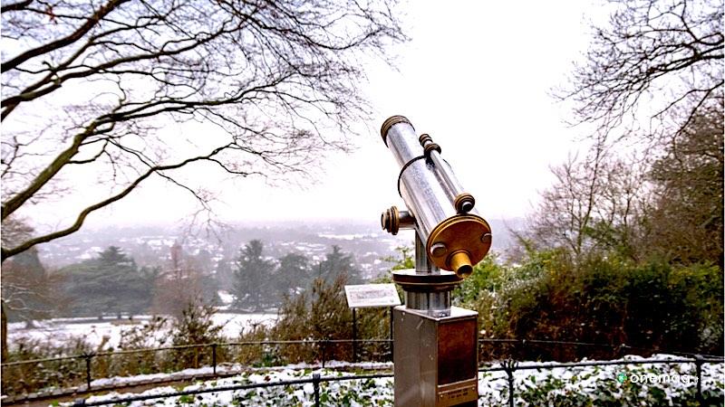 I migliori panorami di Londra, King Henry's Mound