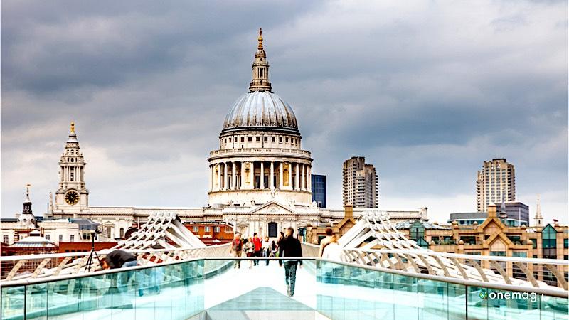 I migliori panorami di Londra, la cattedrale di St. Paul