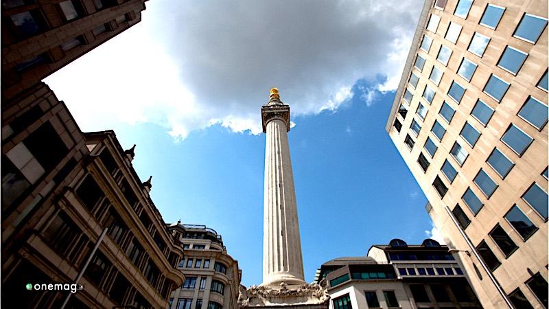 I migliori panorami di Londra, The Monument