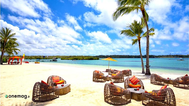 Le spiagge di Mauritius, veduta