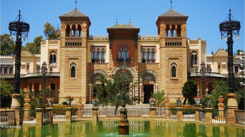 Parco Maria Luisa di Siviglia, i musei