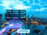 Singapore Flyer, la più grande ruota panoramica dell'Asia