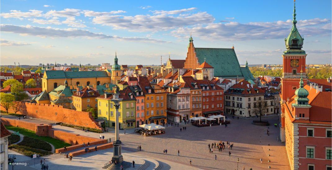Viaggio per immagini, Varsavia