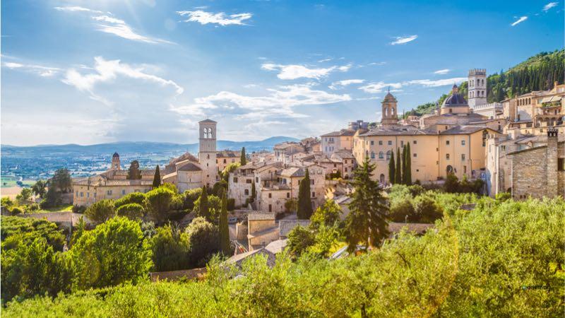 Weekend romantico in Italia, Assisi