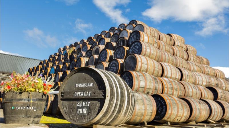 Tour del whisky in Scozia