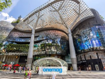 Orchard Road, lo shopping a Singapore