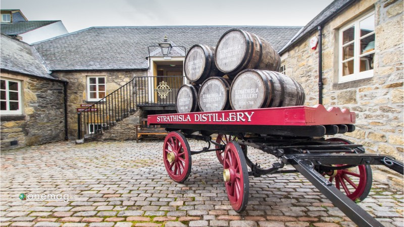 Tour del whisky in Scozia