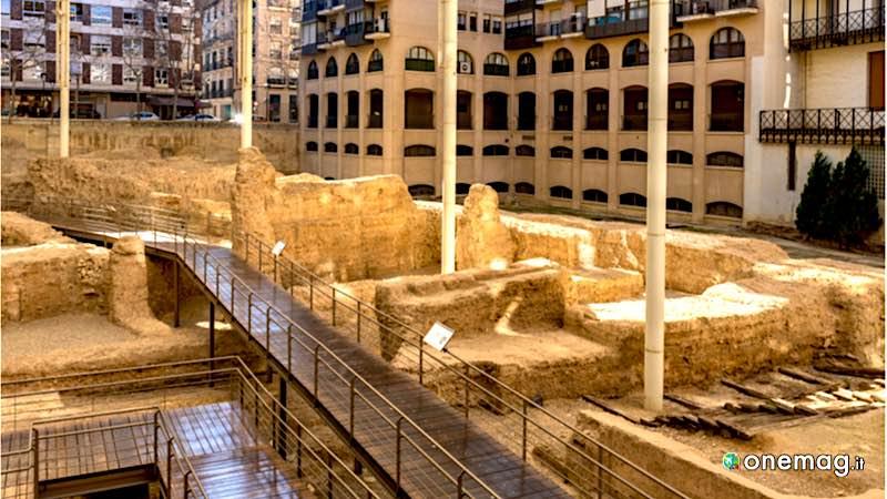 Museo di Teatro Romano, scavi