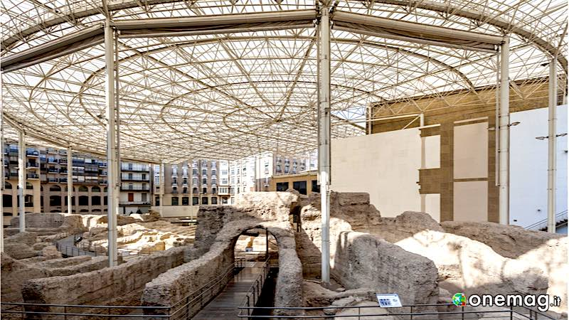 Teatro Romano di Saragozza, veduta