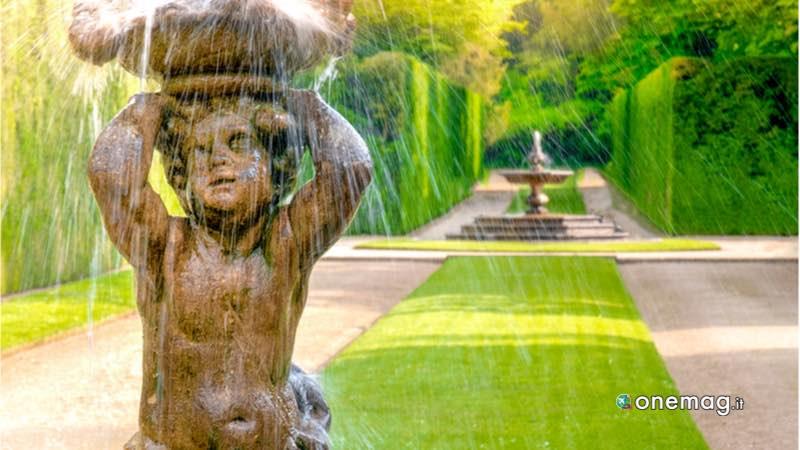 Arqua Petrarca, giardini