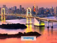 La baia di Tokyo, l'insenatura dell'Oceano Pacifico