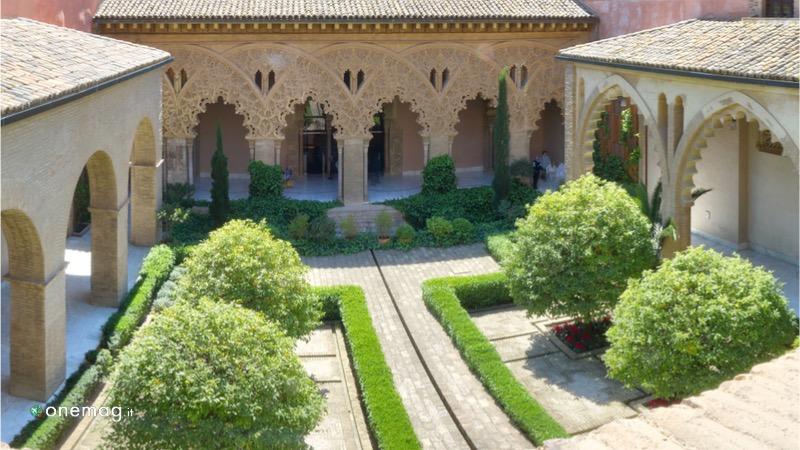 Castello dell'Aljaferia di Saragozza, veduta interna