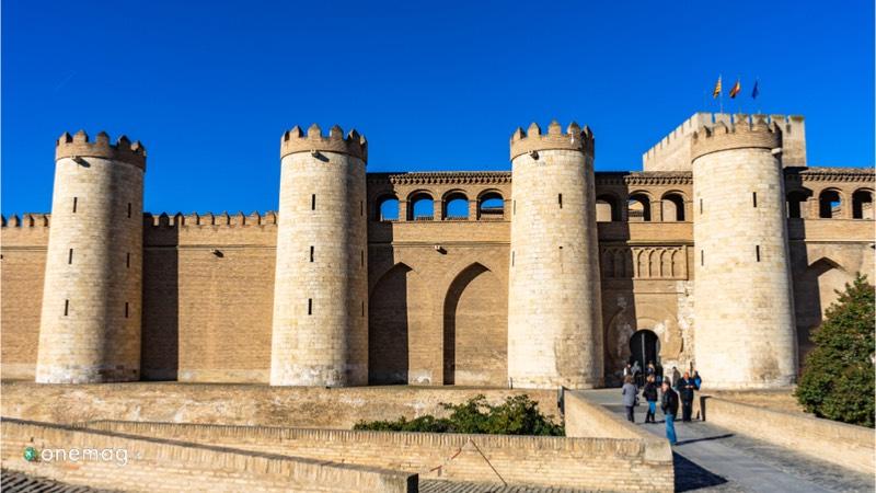 Castello dell'Aljaferia di Saragozza, ingresso principale