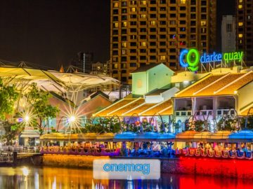 Clarke Quay, l'imperdibile quartiere di Singapore