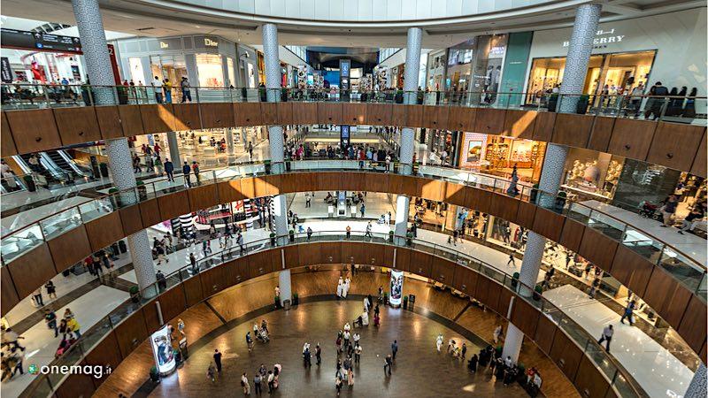 i centri commerciali di Dubai