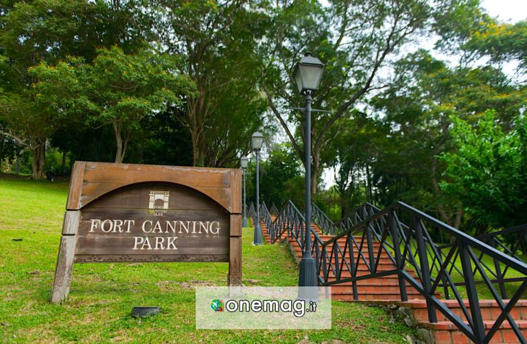 Fort Canning Park di Singapore