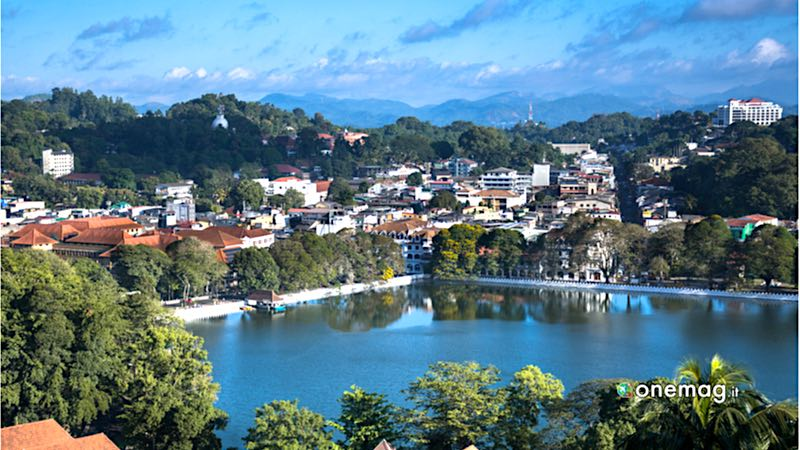 Cosa vedere a Kandy, panorama