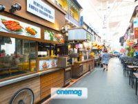 Strada del Mercato di Chinatown a Singapore