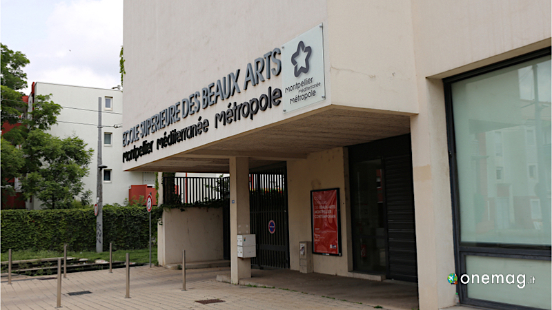 I quartieri di Montpellier, Quartier des Beaux-Arts