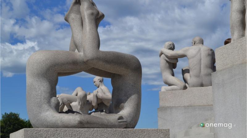 Cosa visitare a Oslo in una giornata, il Parco delle sculture Gustav Vigeland