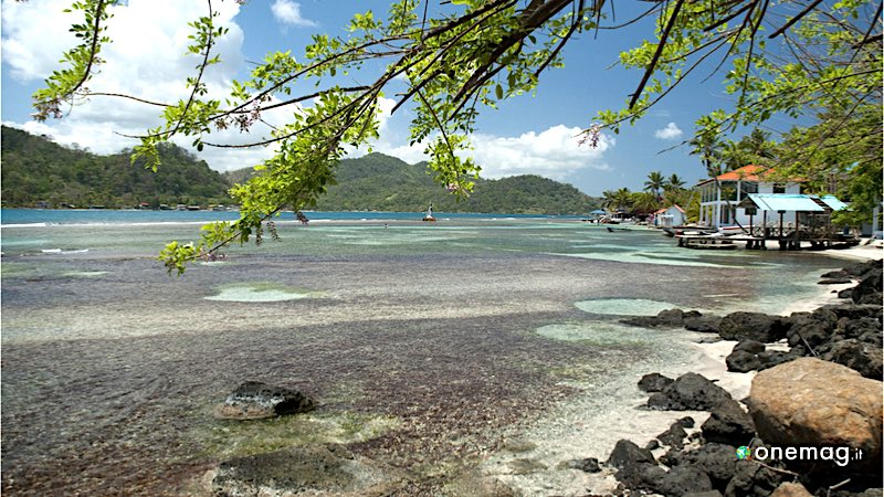 Le più belle spiagge di Panama, Isla Grande