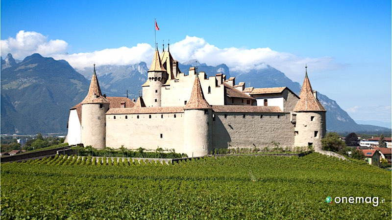 Guida ai castelli della Svizzera