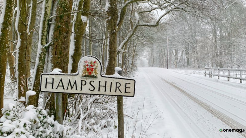 Risalente Andover Hampshire