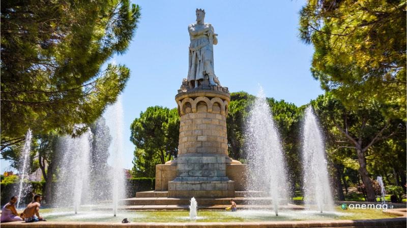 Parco José Antonio Labordeta di Saragozza, fontana