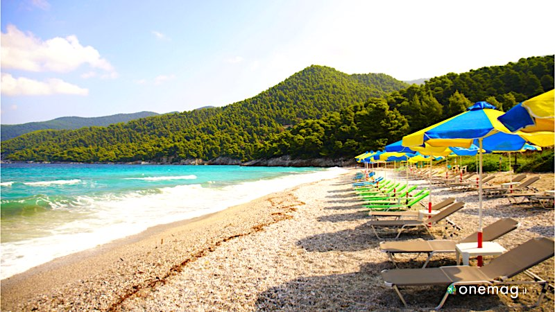 Cosa vedere a Skopelos, Milia Beach