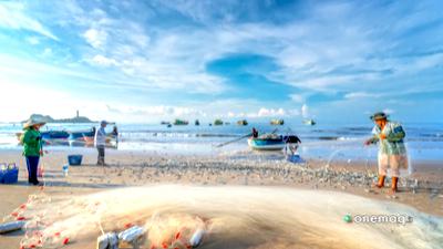 Phan Thiet, spiaggia
