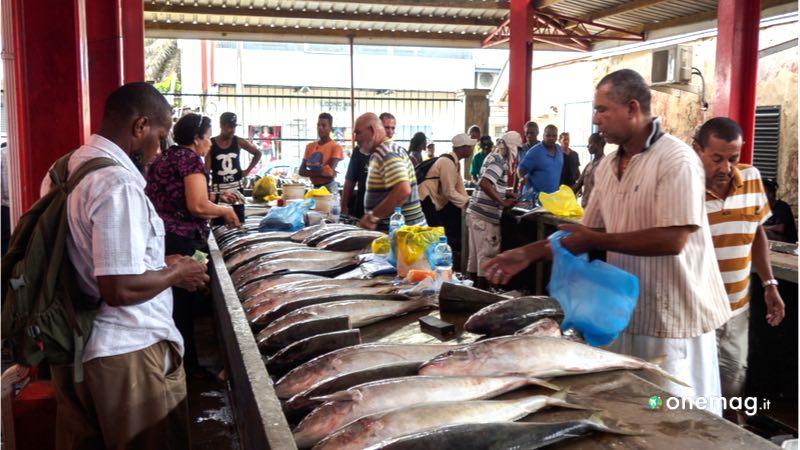 Cosa vedere a Mahé, mercato di Victoria