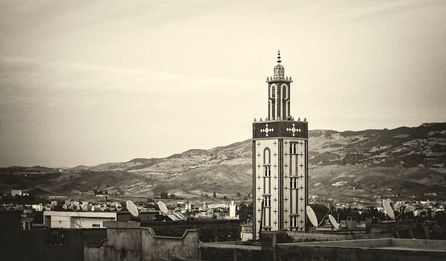 Cosa vedere a Marrakech, veduta moschea