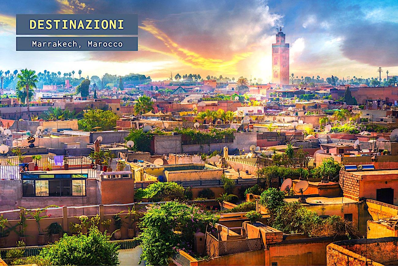 Marrakech, la capitale culturale del Marocco