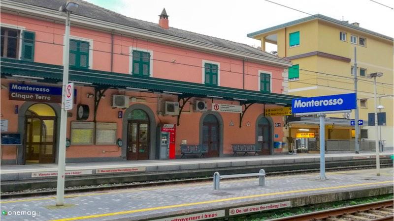 Cosa vedere a Monterosso al Mare, stazione ferroviaria