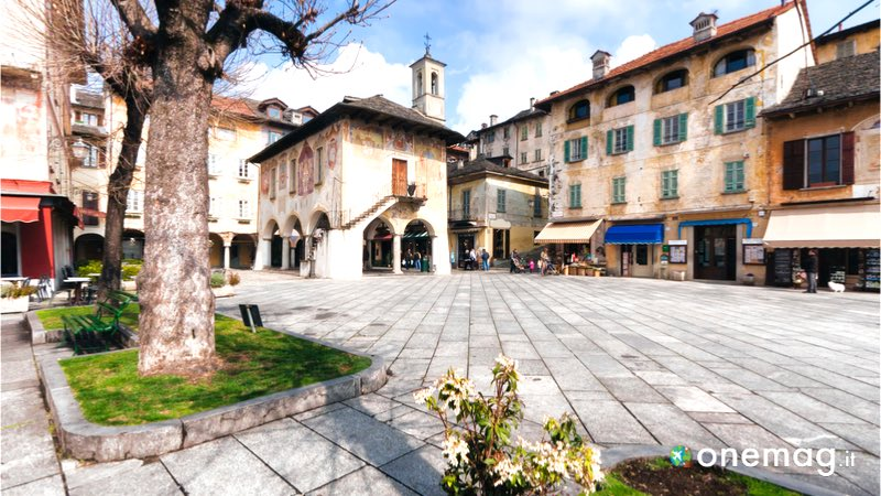 Cosa vedere a Orta San Giulio, veduta centro storico