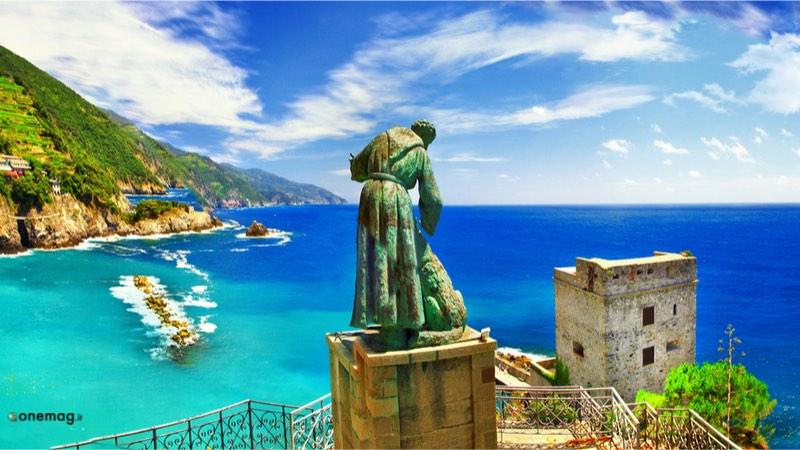 Cosa vedere a Monterosso al Mare, la Statua di San Francesco